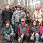 debris hut group