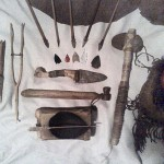 tools and arrowheads