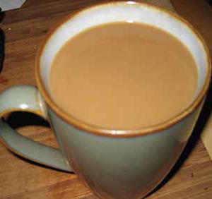 Cup of Dandelion Coffee