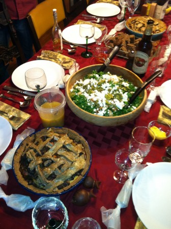 Foragers Thanksgiving Table